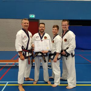 diploma, 1e dan, tang soo do, karate, vechtsport, smallingerland, drachten